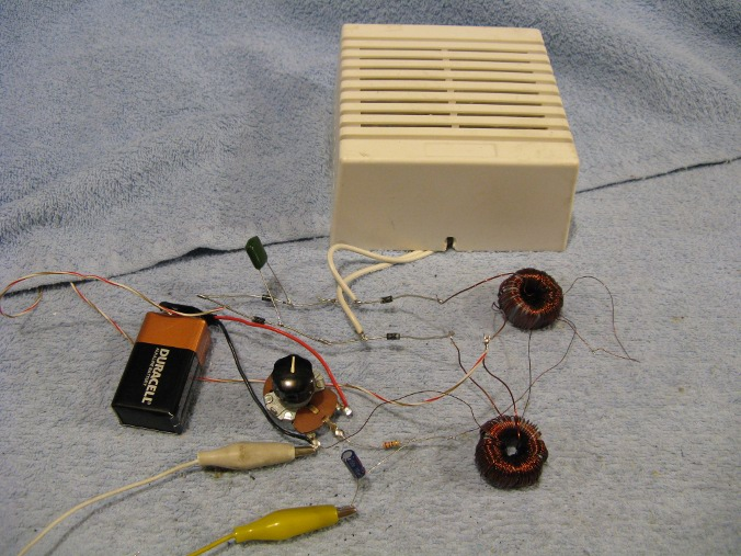 Homemade Magnetic Audio Amplifier.