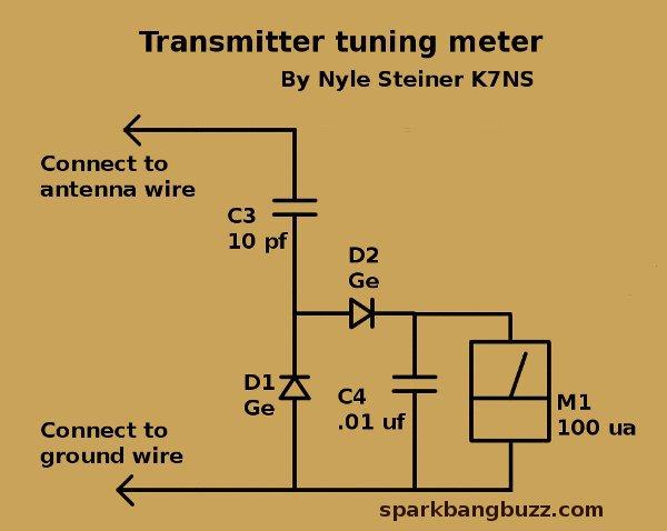Zinc Negative Resistance Makes 40 Meter CW Transmitter – Diagram Of An Am Antenna Long Wire